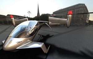 Helicóptero a energía solar y electrica