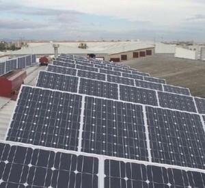 Parque solar IM2 en Valencia l'Alcúdia