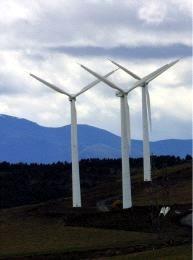 Plan de energía eólica en Asturias