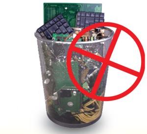 E-scrap: qué hacer con los residuos de equipos electrónicos y eléctricos