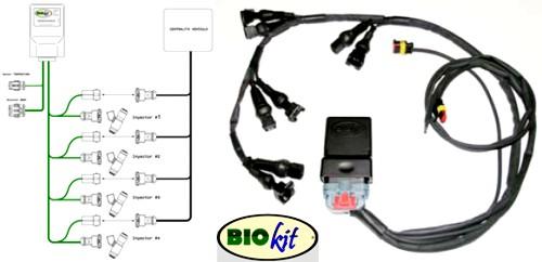 Biokit Motor presenta en Motortec09 un sistema que permite el uso del bioetanol e85