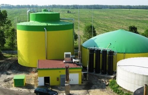 Planta de generación de Biogás