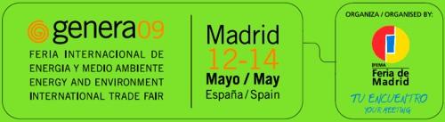 Genera'09 la Feria Internacional de Energía y Medio Ambiente en España