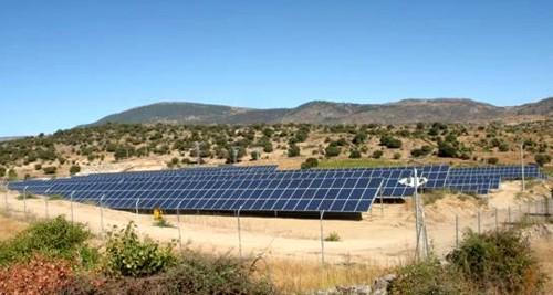 Nueva planta experimental de energía fotovoltáica de Affirma Energía Solar en El Barranco, Ávila