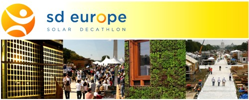Maquetas de la competición Solar Decathlon Europe 2010 en la Semana de la Sostenibilidad