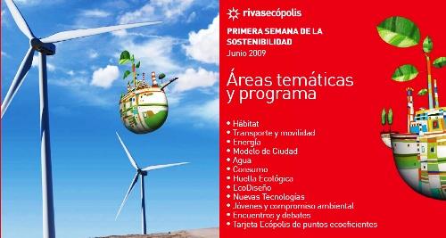 I Semana de la Sostenibilidad, del 24 al 28 de junio en Rivas Vaciamadrid