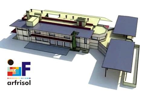 ARFRISOL Edificio Bioclimático en el Centro de Desarrollo de Energías Renovables CEDER-CIEMAT en Lubia Soria