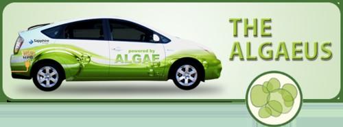 Algaeus, el Prius movido por un combustible renovable hecho de algas