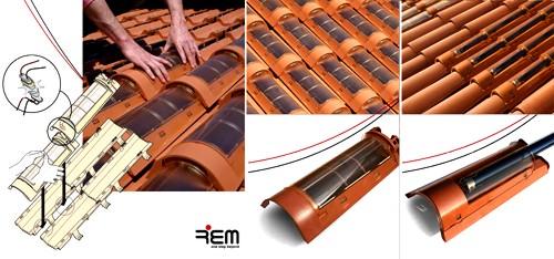 Tejas solares de Techtiles utilizadas para respetar la estética de las edificaciones antiguas