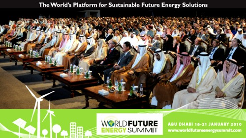 World Future Energy Summit 2010 (WFES) entre el 18 y el 21 de enero en Abu Dhabi