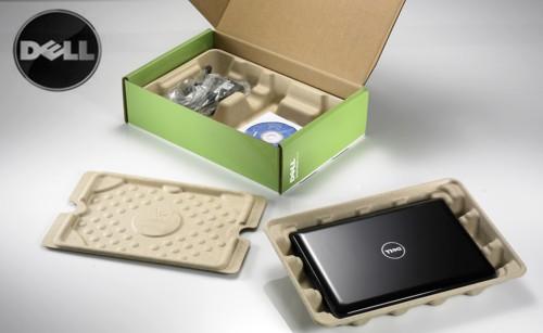 Embalaje de bambú en los productos de Dell