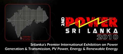 2º Exposicion Internacional POWER Sri Lanka 2010, ferias y conferencias