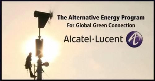 Alcatel-Lucent, Programa de Energías Alternativas