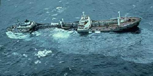 Argo Merchant, derrame de petróleo al sureste de Nantucket, Massachusetts