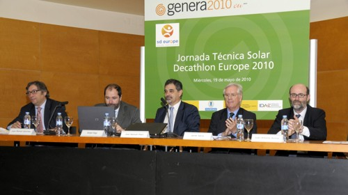 Genera 2010. Jornadas Técnicas de Solar Decathlon Europe