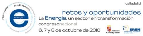 Congreso Nacional de Energía en octubre en Valladolid