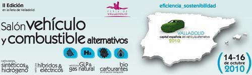 Salón Vehículo y Combustible Alternativos 2010 en Valladolid, España