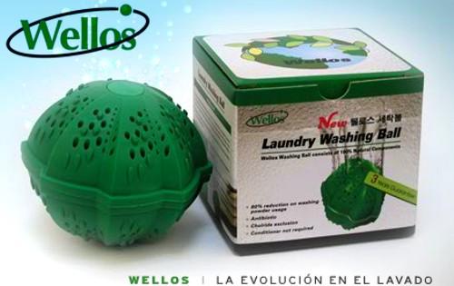 Eco-Bola Wellos lider mundial en lavado ecológico y económico