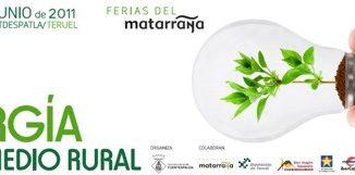 II Feria de la Energía en el medio Rural en Fuentespalda, Aragón, España