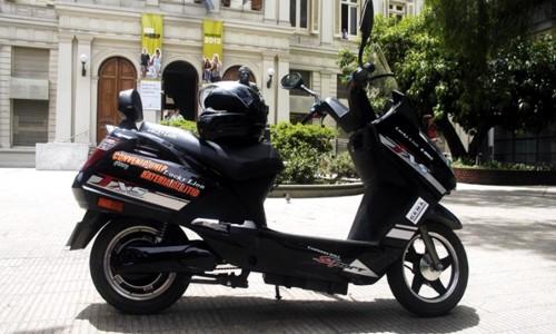 La primera Moto Eléctrica de Argentina