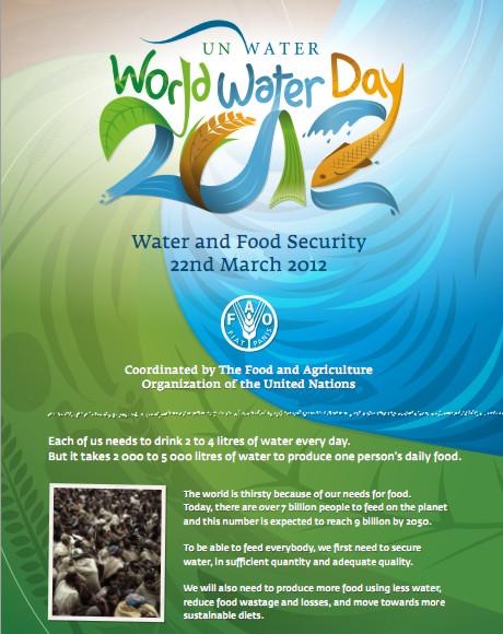Día Mundial del Agua 2012