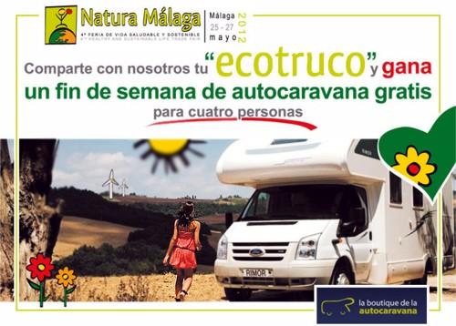 Natura Málaga, comparte un Ecotruco y gana un premio