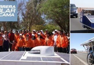Carrera Solar Atacama, la única competencia de autos solares de Latinoamérica