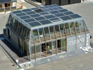 Canopea de Rhone Alpes de Francia se adjudicó la Prueba de Arquitectura en la SDE