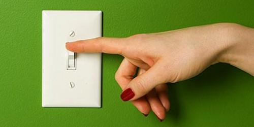 Cómo ahorrar energía eléctrica. Tips