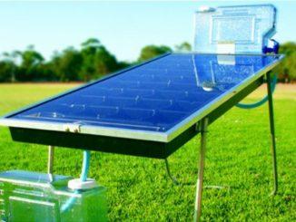 Purificador solar de agua