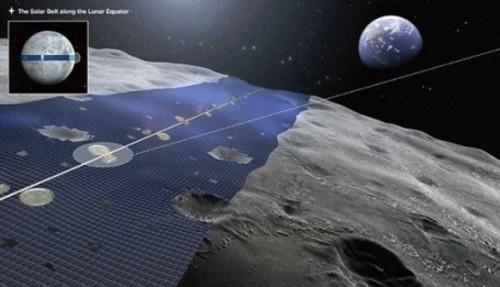 Generar energía limpia desde la luna