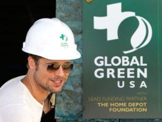 Brad Pitt, celebridad comprometida con el medio ambiente y la ayuda humanitaria