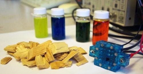 Celda de combustible híbrida de biomasa