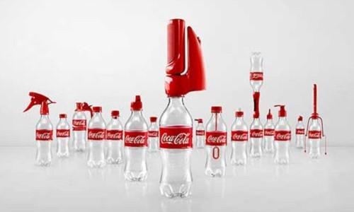 Coca Cola 2nd Lives, capaña para el aprovechamiento de botellas