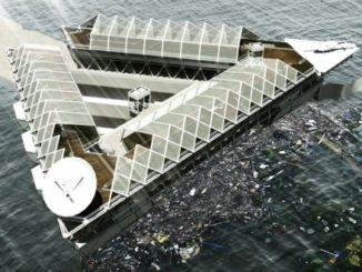 Plataforma para filtrar los océanos