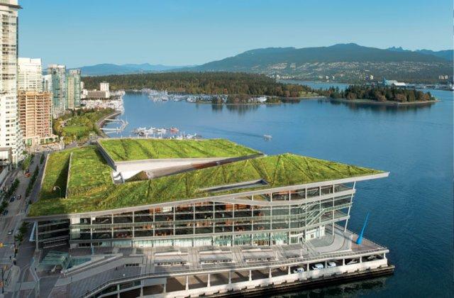 para integrar el edificio al máximo en el entorno