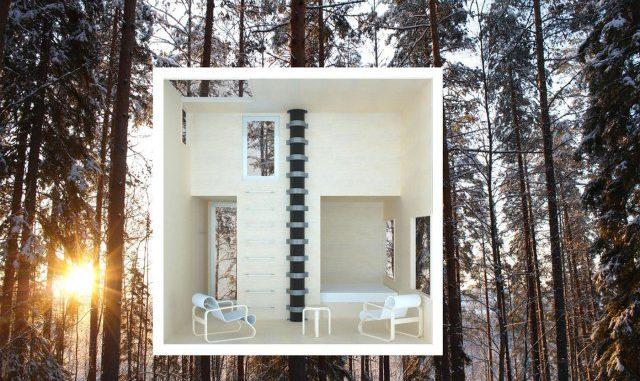 Ecoturismo en hoteles y cabañas sobre los árboles