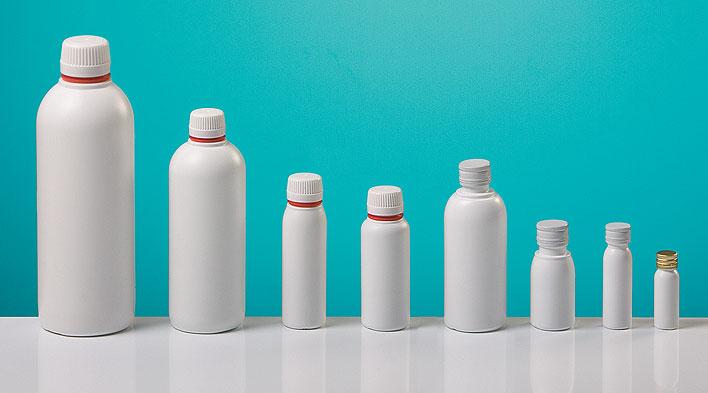 #4 Botellas plásticas HDPE