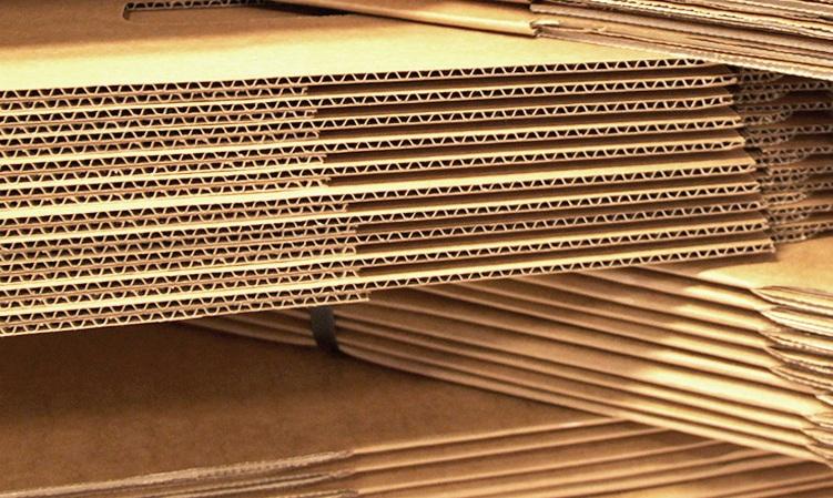 #7 Cartón corrugado