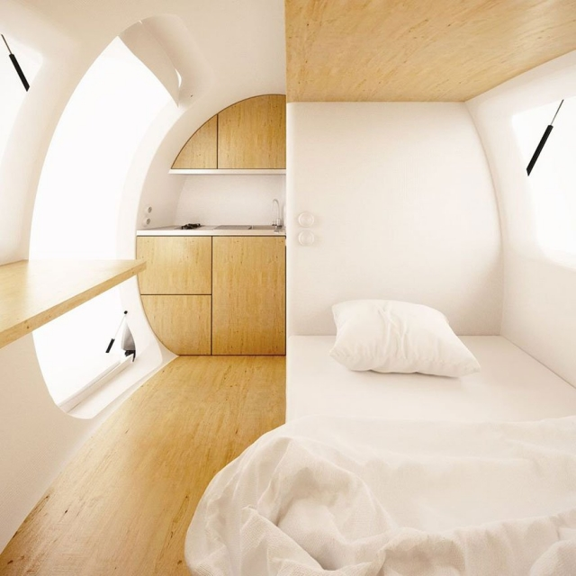 Ecocapsule de Nice Architects