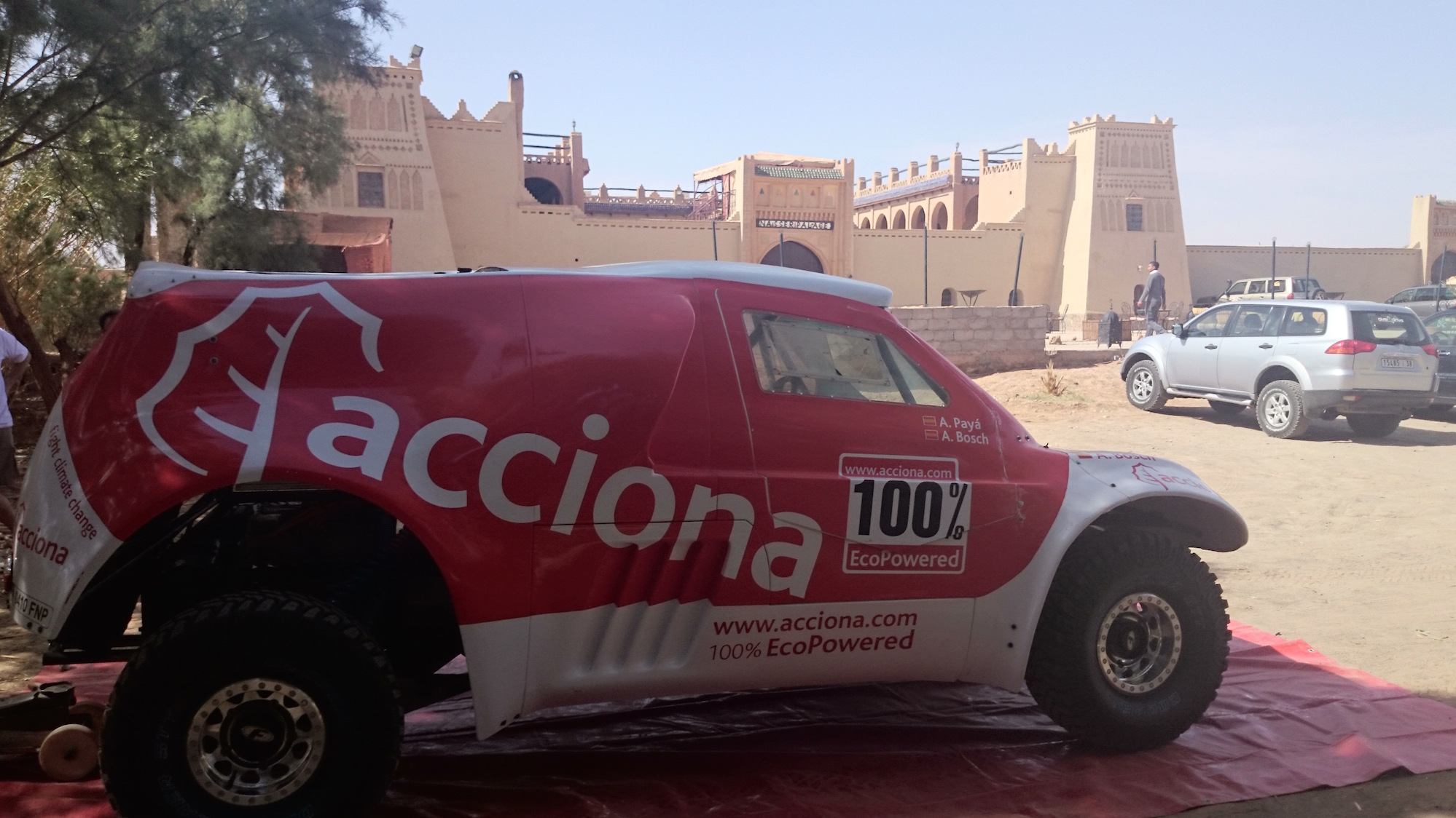 Rally Dakar 2016 automovil electrico