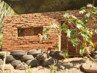 Casas de material reciclado