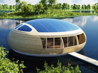 WaterNest 100 Casa Flotante Ecológica