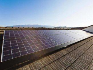 Paneles solares para ahorrar agua