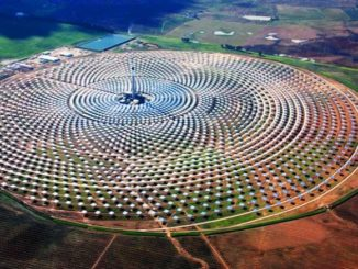 Planta solar en Andalucía