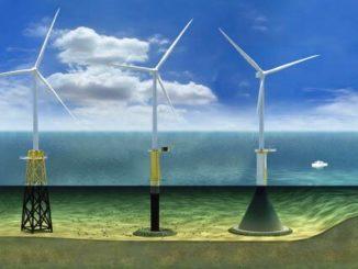 Estructuras para turbinas eólicas marinas