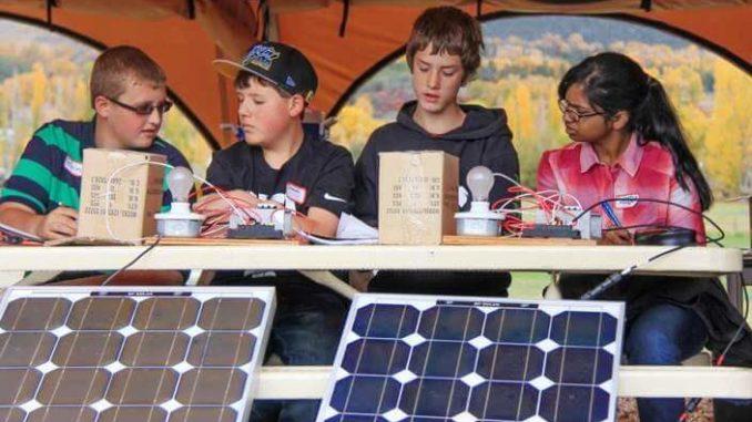 Energías renovables y los niños