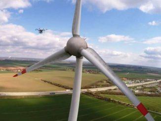 Drones para campos eólicos