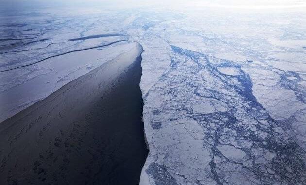 El hielo marino del Ártico en marzo se encontraba en el nivel más bajo jamás registrado en el mes