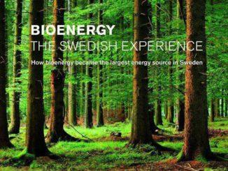 Bioenergía en Suecia